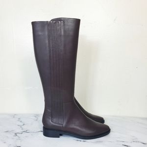 Calvin Klein Brown Leather Boots